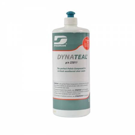 Boião de 1 litro de massa de polir Dynateal (cor verde)