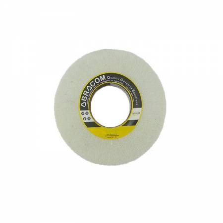 Rueda flap blanca sin mineral - D10