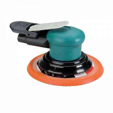 Rotary orbital sander, non-vacuum, 5 mm orbit, D150 mm adhesive plate - Spirit 59.025 model