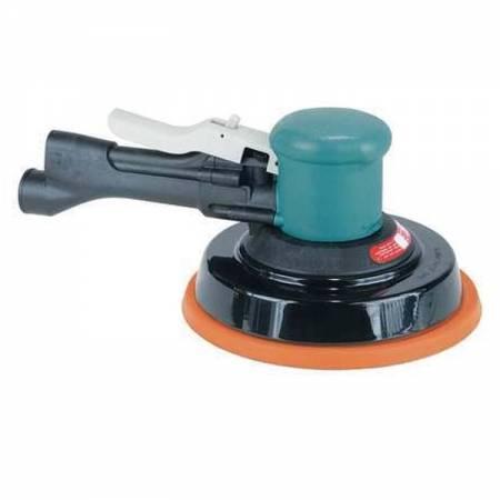 Lij. rotorbital con mango, sin asp., órbita 5 mm,D150 mm plato velcro - modelo Two-Hand 58.405