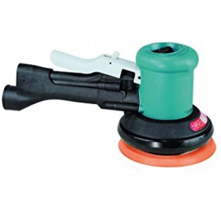 Radial and rotary orbital sander with handle, non-vacuum, 5 mm orbit, D150mm mm adhesive plate - Two-Hand 58.435 model