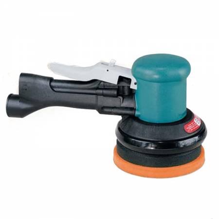 Pulidora neumática, sin aspiración, 900 rpm, D125 mm movimiento anti-holograma - modelo Gear Driven 58.441