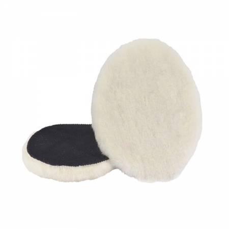 Caja 2 boinas lana pulir velcro, D135 mm
