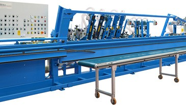 Latest technology machinery for the manufacture of belts